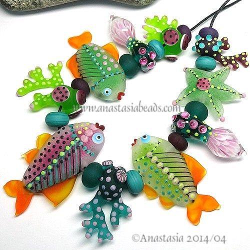 by anastasia glass beadsclay art