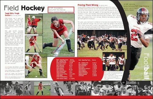 Yearbooks class yearbook spreads yearbooks biz softball yearbooks