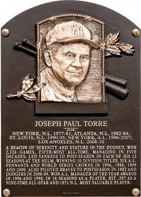 Joe Torre | Baseball Hall of Fame