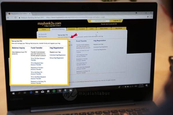 Tutorial Simpanan Akaun Tabung Haji Anak Anak Secara Online Hokaloh Berita Hokaloh News Computer Monitor News Computer