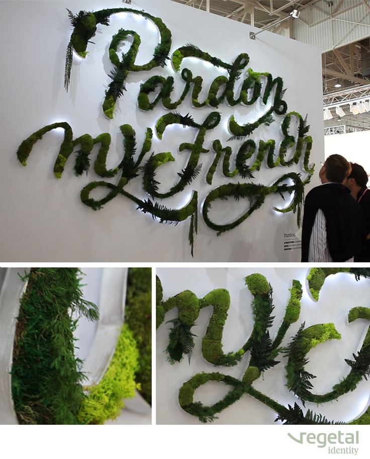 PARDON MY FRENCH    Designed by Vegetal Identity