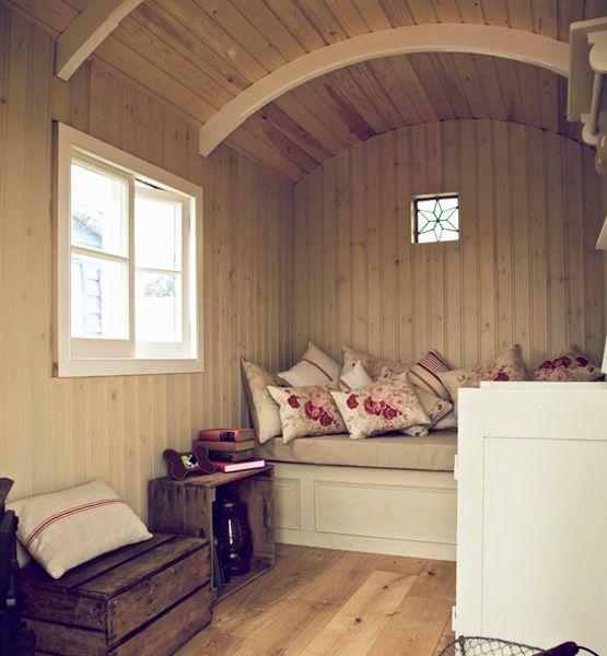Artisan huts