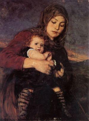 Mανα Με Παιδι, Νικόλαος Γύζης