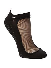 Regular Toe Ankle Mesh Sock With Grip by Shashi, Llc