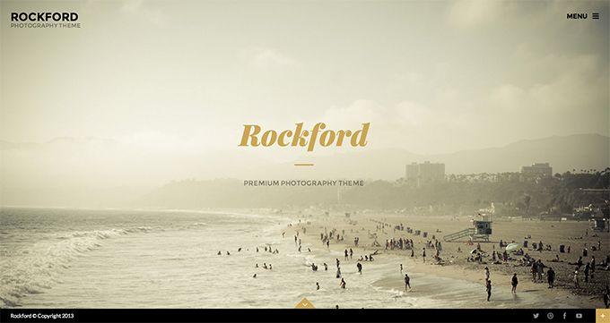 Rockford - a portfolio theme for WordPress