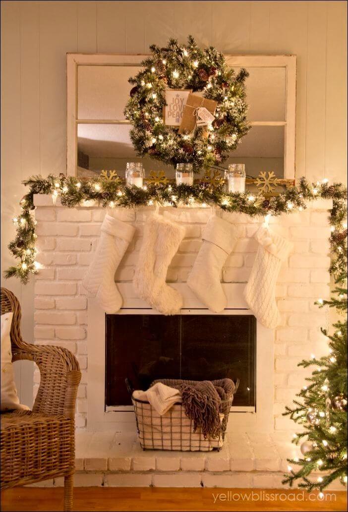 Christmas Chimney Decoration