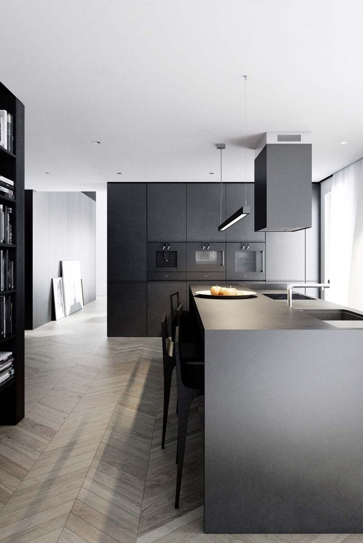 Modern Black Kitchen Cabinets 25 Best Ideas About Black Kitchens On Pinterest Modern Kitchen