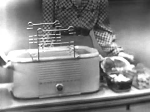 Westinghouse Electric Roaster Commercial (1949). This spot features actress and Westinghouse spokeswoman Betty Furness.