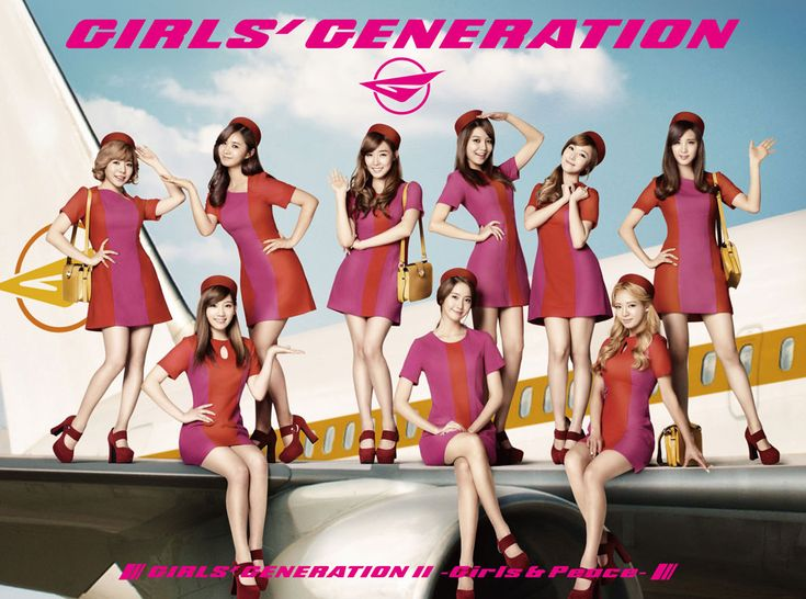 #SNSD #少女時代 #소녀시대 #GirlsGeneration Girls' Generation II and Peace