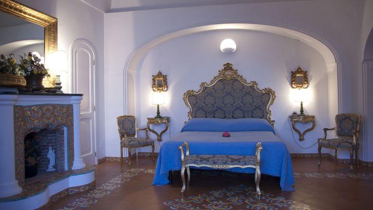 Honeymoon suite at Villa Fiorentino