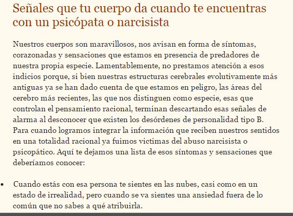 #intuicion #psicopatas #narcisistas #abuso #maltrato