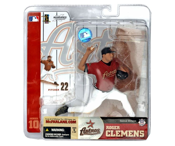 Roger Clemens McFarlane Action Figure Series 10 Astros NEW