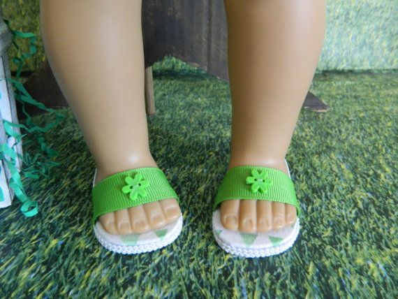 Doll shoes for 18 American Girl doll or similar 18 von SewCuteJune