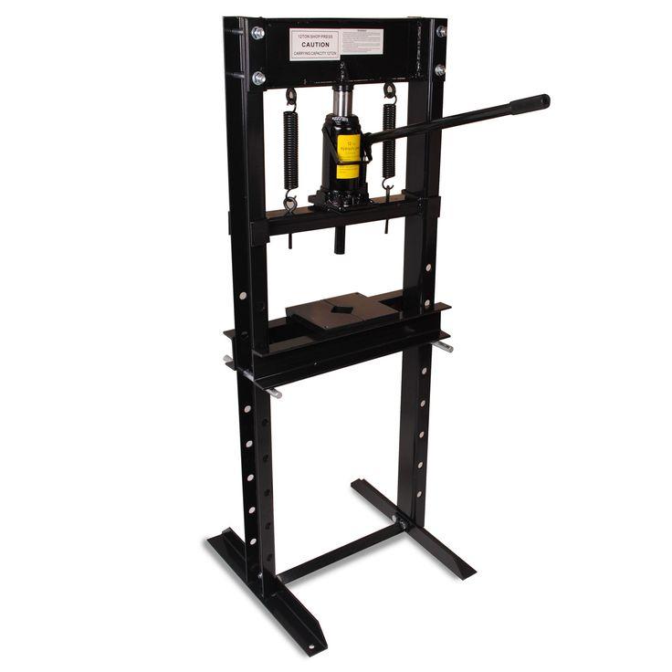 HEAVY DUTY BLACK EDITION 12 TON WORKSHOP GARAGE HYDRAULIC UPRIGHT SHOP PRESS | Motor: recambios y accesorios, Taller: equipos y herramientas, Taller: equipos y consumibles | eBay!