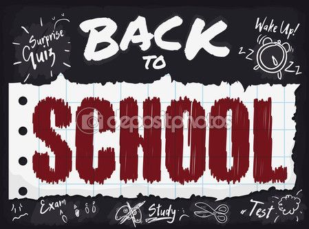Poster with all Responsibilities of Back to School Season