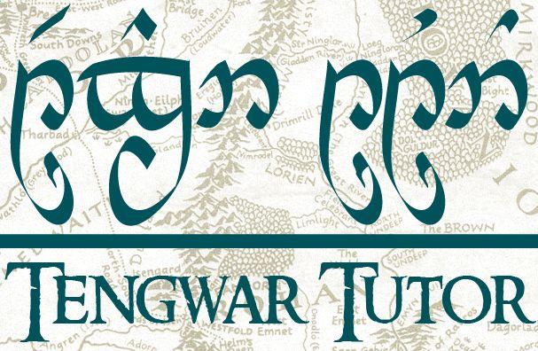 "Tengwar Tutor ""Not all those who wander are lost"" – Tattoo idea – Piercings & Tattoos"
