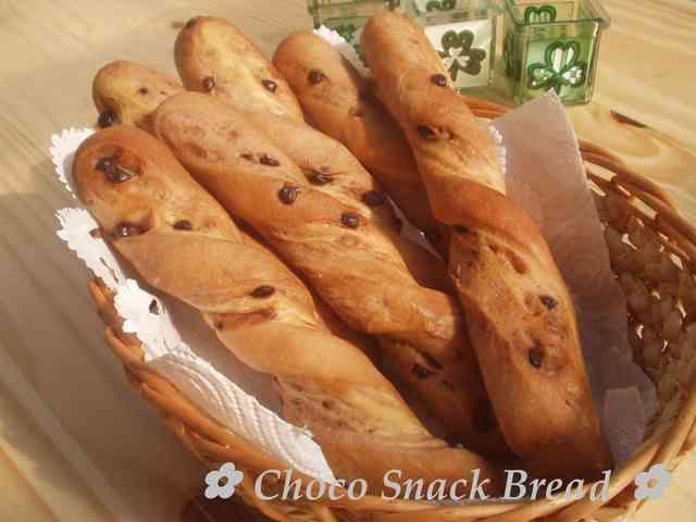✿ チョコスナックパン ✿の画像