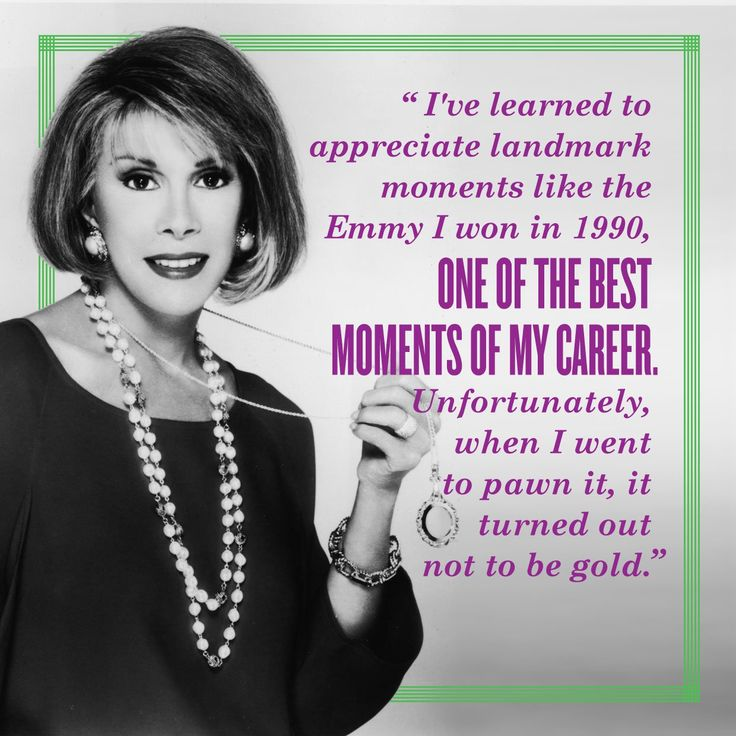 35 best Joan Rivers quotes