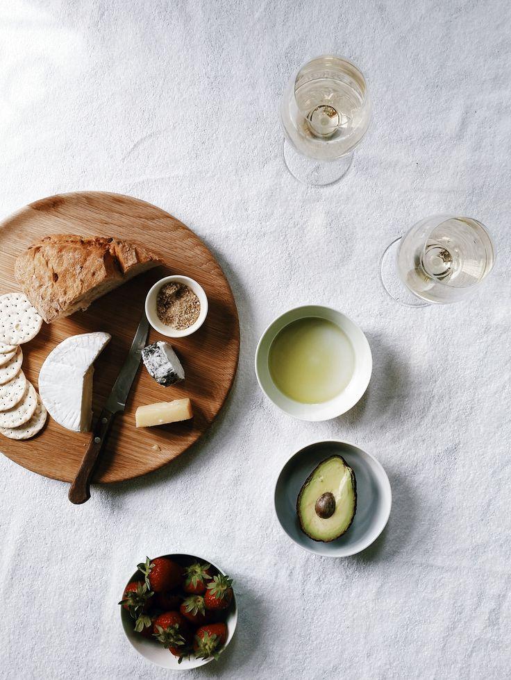 Antipasto time! Royal Doulton Olio collection oak serving platter