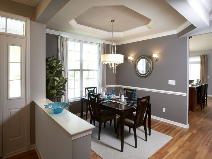 Kimberton Entrance And Dining Room Home Pinterest Grey Walls Warm And
