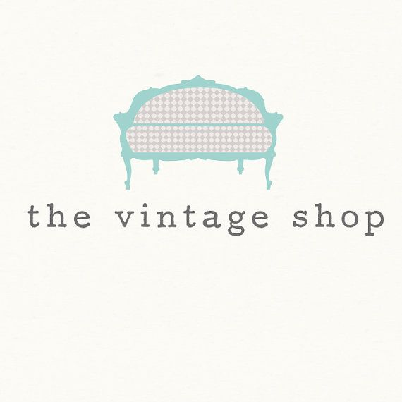 Custom Premade Logo Design  OOAK  The Vintage by 7thavenuedesigns, $70.00