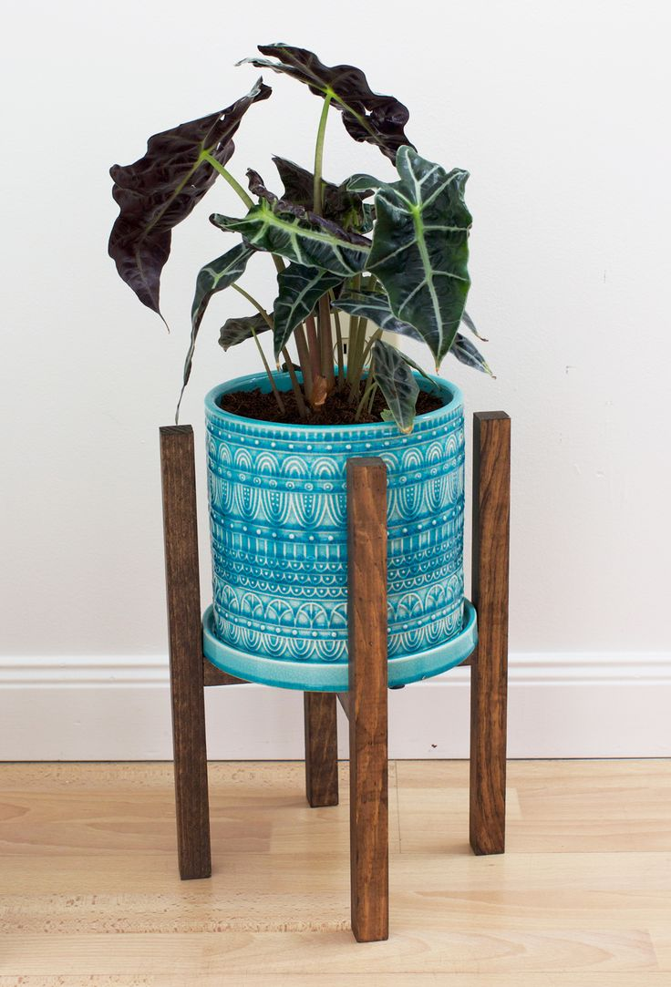 Simple And Sweet Diy Modern Planter Stand Sweet