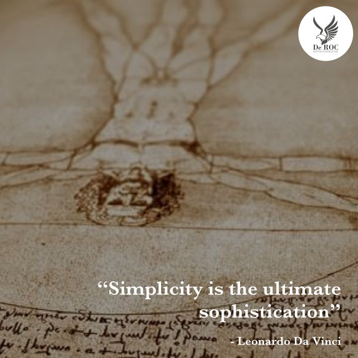 """Simplicity is the ultimate sophistication"" - Leonardo Da Vinci #quotes #architecture #design"