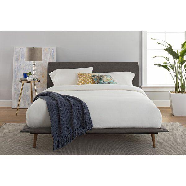 Upholstered Platform Bed, Landen Queen Upholstered Platform Bed