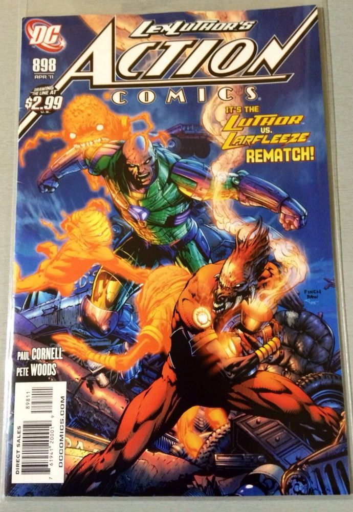Action Comics - Issue # 898 - April # 11 - 1st Print