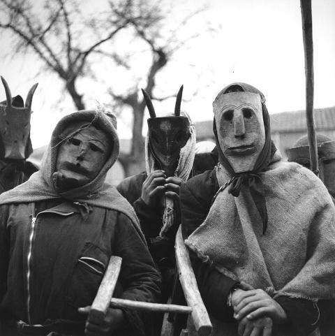 Andreas Fridolin Weis Bentzon - #Ottana #Sardegna, Carnevale 1958 (2)