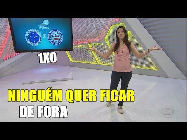 Globo Esporte MG - Cruzeiro vence o Bahia Com Time que Possivelmente vai Enfrentar o Flamengo