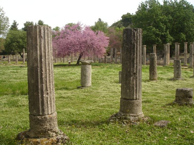 Ancient Olympia, the borthplace of Olympic Games! #visitgreece #peloponnese #archaeology