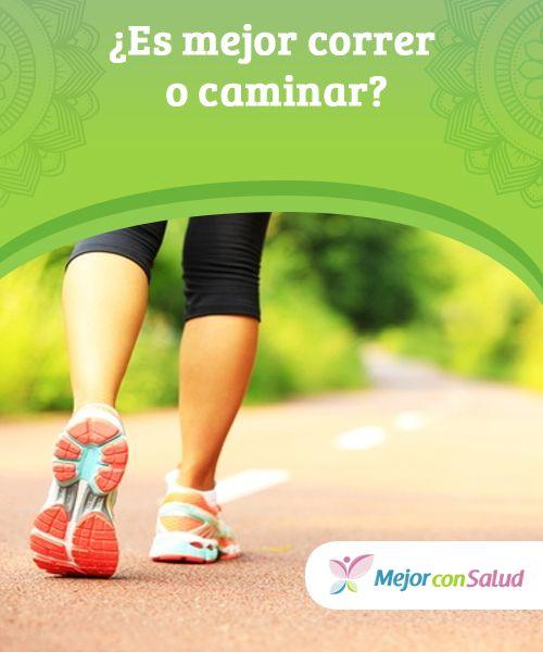 ¿Es mejor correr o #caminar? Si bien ambos #ejercicios son beneficiosos para la #salud, elegir uno u otro dependerá de nuestras condiciones físicas y de los resultados que queramos obtener a corto o largo #plazo #HábitosSaludables