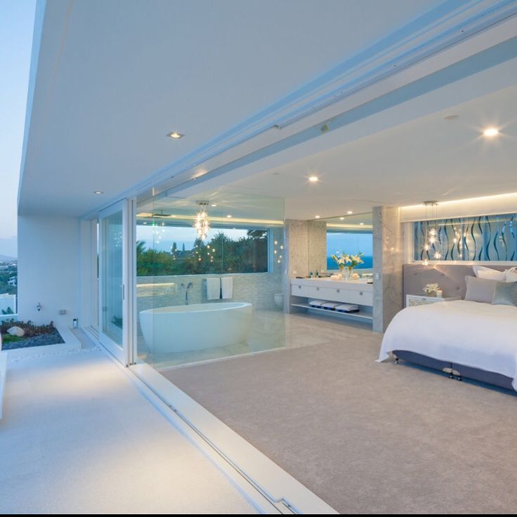 North Sunshine Beach House Master bed Chris Clout Design