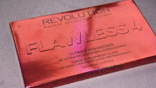 MichelaIsMyName: Makeup Revolution FLAWLESS 4 Eyeshadow Palette