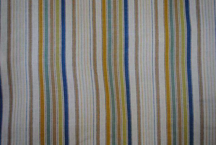 Conti Stripe Multi showing pattern repeat