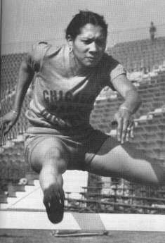 July 16, 1932: Louise Stokes, eighteen, and Tidye Pickett (above), nineteen, are the first African American women to earn Olympic berths on the U.S. women's track team with strong performances at the Olympic trials held in Evanston, Illinois. The U.S. Olympic committee will replace the two with white women who had run slower times during the trials.