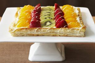#kraftrecipes Beautifully Easy Fruit Tart recipe