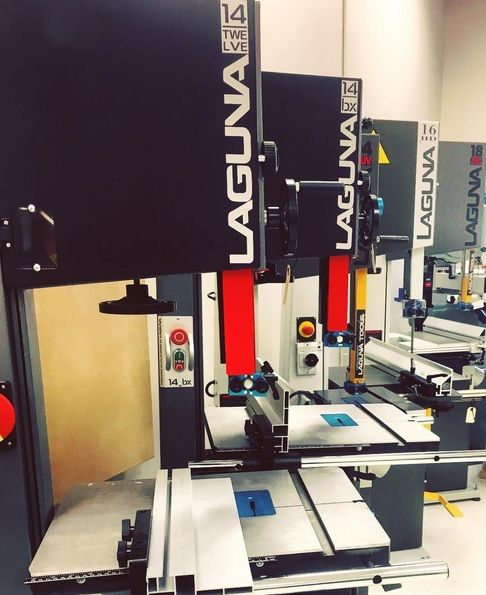 """The Resaw Kings. Laguna is known for providing quality bandsaws with unparalleled stability and power in even the most compact machines. No matter which bandsaw you choose, whether you are a hobbyist or professional woodworker, you will never want to go to any other bandsaw.""  - @atlasmachinery   #LagunaTools #Laguna #Bandsaw #Machinery #Resaw #Kings #Carbide #Blades #Quality #WoodWorking #Machines #Hobbyist #Professional #Tradesmen #WoodShop #Carpentry #Contractor #Construction…"