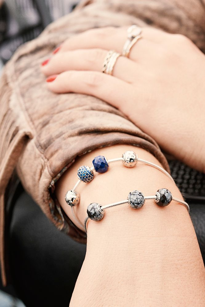 The PANDORA ESSENCE COLLECTION is perfect for symbolizing the many moments of joy that you  have shared with your BFF. #PANDORAmagazine