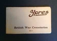 Ten postcards of British War Cemeteries (Ypres) series 3