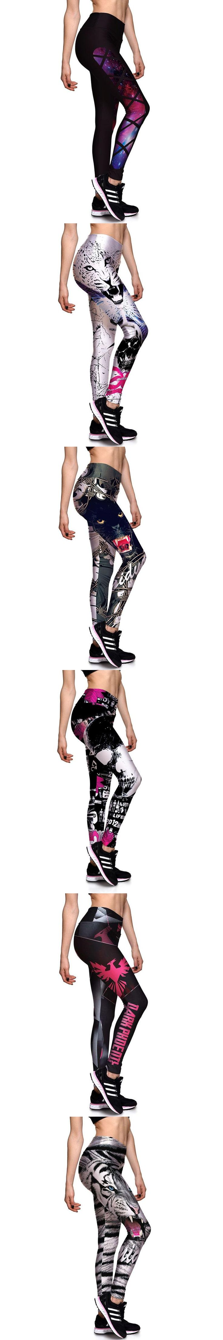 Europe America Styles 3D Printing Women Leggings Plus Size Fitness Sexy New Stretch Dancing Workout Legging ropa deportiva mujer