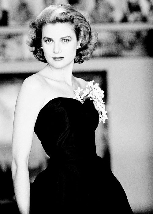 Grace Kelly, 1955, photo by Howell Conant