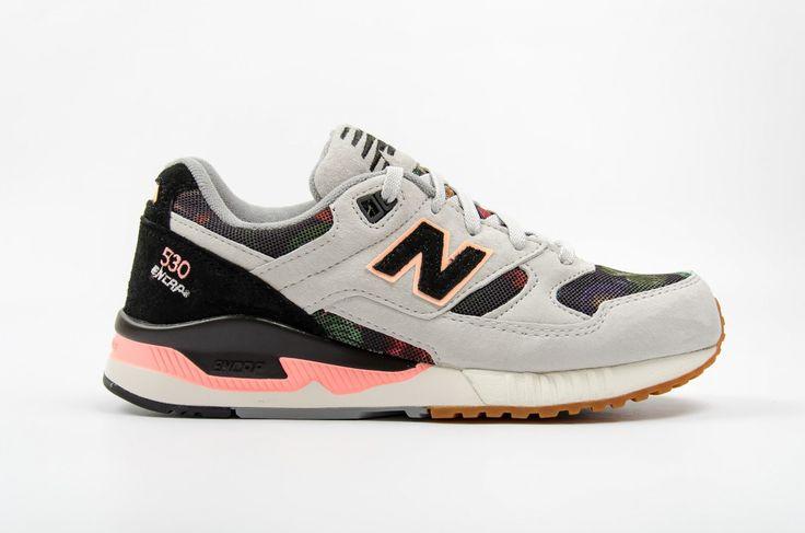 New Balance W 530 MON White, Black | W530MON | footdistrict.com