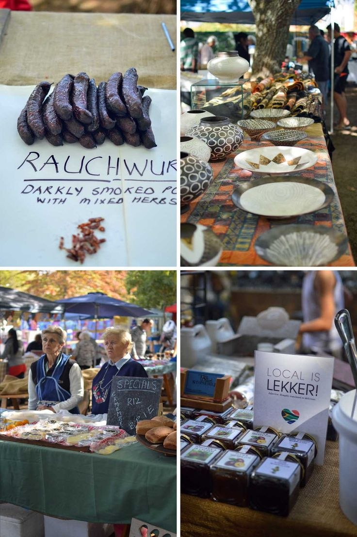 Franschhoek Village Market, South Africa   heneedsfood.com
