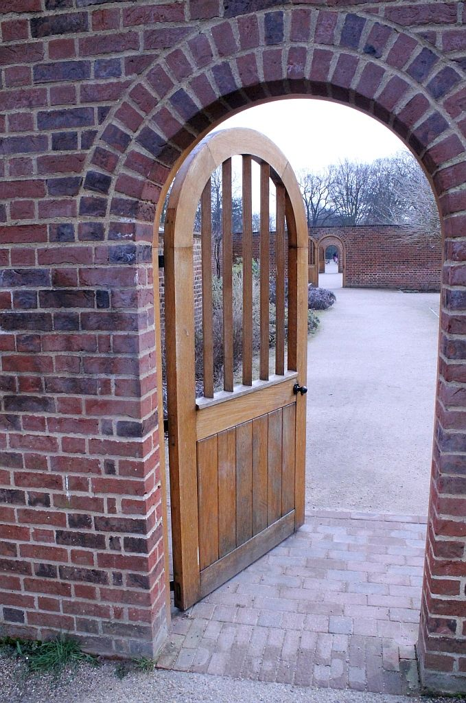 Entrance to the walled gardens, Valentines Park