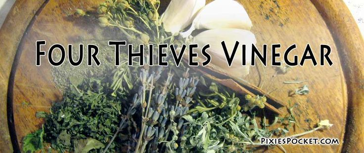 Four Thieves Vinegar is a great tool. This herb-infused vinegar has antibacterial and antiviral properties, making foot soak, bug spray, counter cleaning, and more.