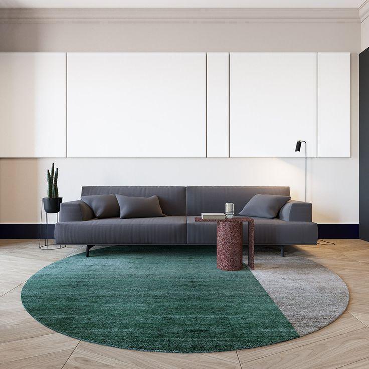 Modern interiors in Lera Brumina's 55 Sq Meters Apartment