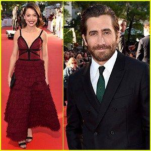 Jake Gyllenhaal & Tatiana Maslany Premiere Stronger at TIFF