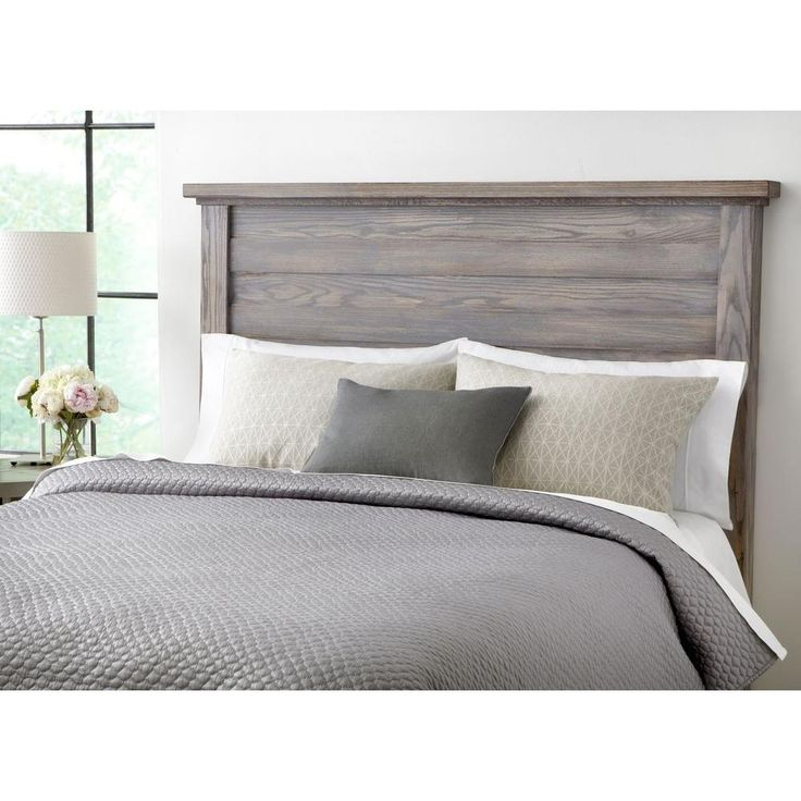 Best 25+ Gray headboard ideas on Pinterest | White gray bedroom ...